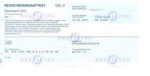 Certificat Danemarca 2